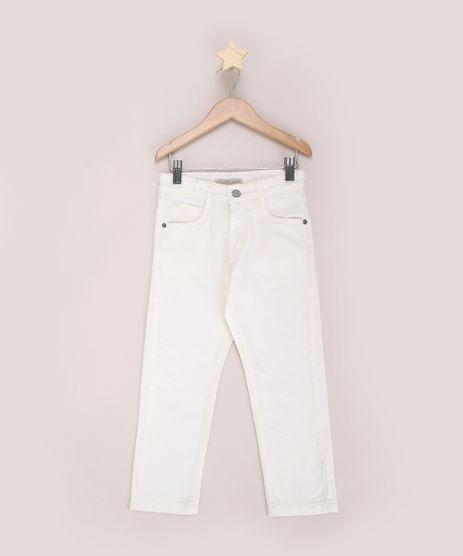 Calca-de-Sarja-Infantil-Reta-com-Bolsos-Off-White-9968887-Off_White_1