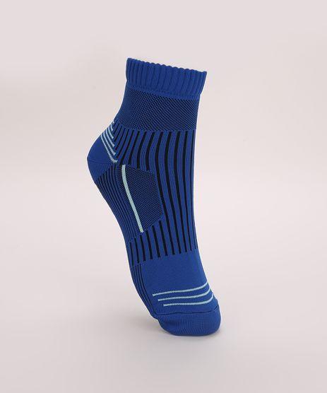 Meia-Masculina-Trifil-Hidroginastica-Cano-Medio-com-Listras-e-Sola-Antiderrapante-Azul-9974604-Azul_1