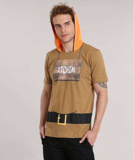 Camiseta-7-Anoes--Atchim--com-Capuz-Marrom-8933848-Marrom_1