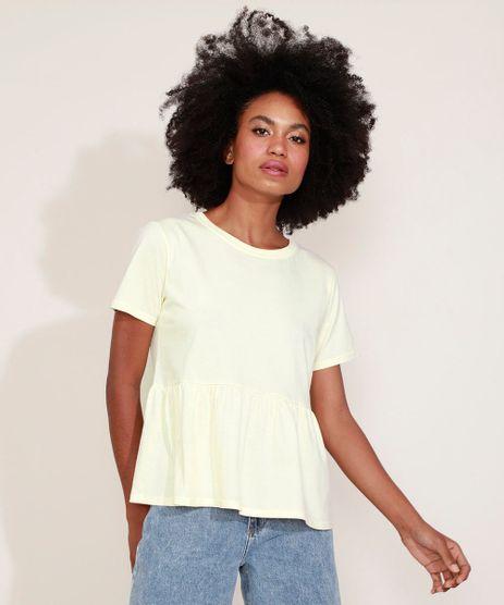 T-shirt-Feminina-Mindset-com-Babado-Manga-Curta-Off-White-9955885-Off_White_1