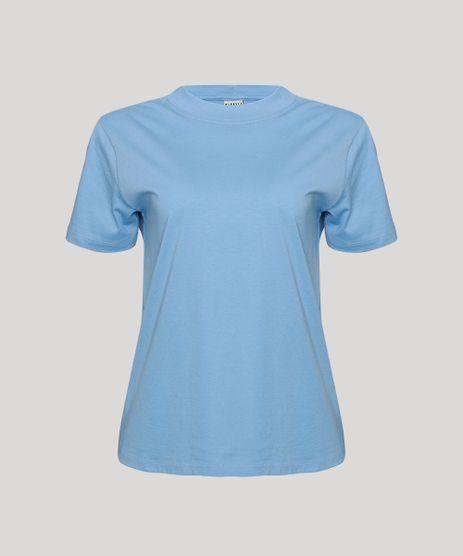 T-Shirt-Feminina-Mindset-Basica-Manga-Curta-Decote-Redondo-Azul-Claro-1-9394894-Azul_Claro_1_6