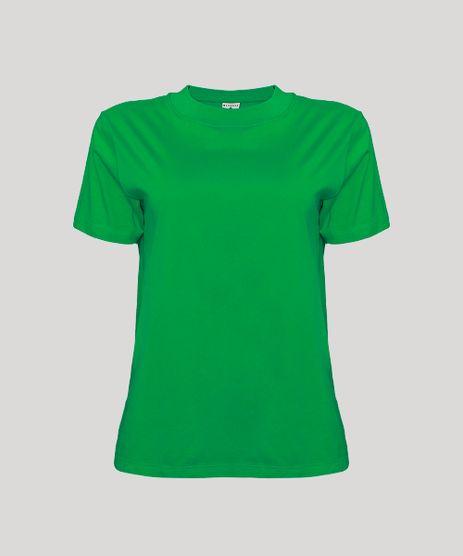 T-Shirt-Feminina-Mindset-Basica-Manga-Curta-Decote-Redondo-Verde-1-9394894-Verde_1_6