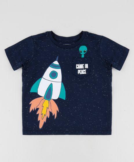 Camiseta-Infantil-Foguete-com-Bolso-Manga-Curta-Gola-Careca-Azul-Marinho-9954941-Azul_Marinho_1