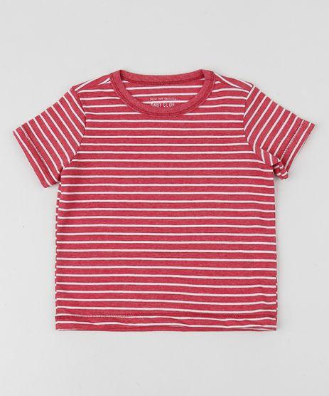Camiseta-Infantil-Listrada-Manga-Curta-Gola-Careca-Vermelha-9961516-Vermelho_1