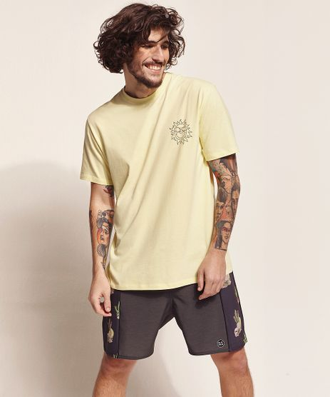 Camiseta-Masculina-Birden-Tal-Pai-Tal-Filho-Sol--Radiate-Positivy--Manga-Curta-Gola-Careca-Amarelo-Claro-9970451-Amarelo_Claro_1