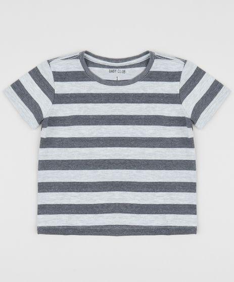 Camiseta-Infantil-Listrada-Manga-Curta-Gola-Careca-Chumbo-9964282-Chumbo_1