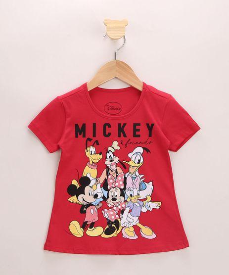 Blusa-Infantil-Ampla-Turma-do-Mickey-com-Glitter-Manga-Curta-Vermelha-9966184-Vermelho_1