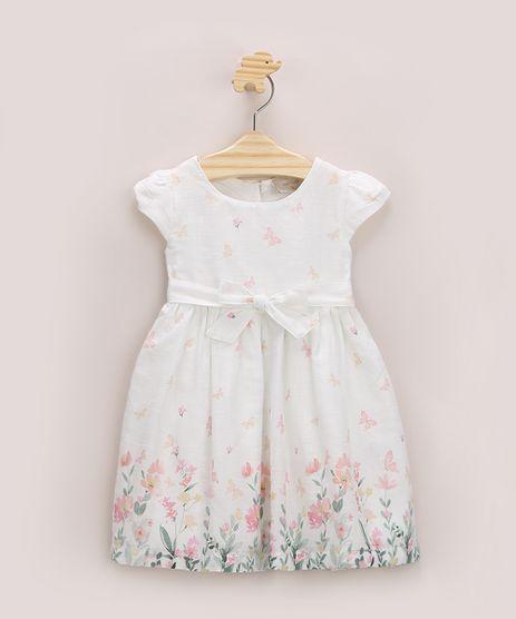 Vestido-Infantil-Estampado-de-Borboletas-Manga-Curta-Off-White-9964377-Off_White_1