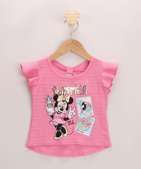 Blusa-Infantil--Summer--Minnie-Mouse-Manga-Curta-com-Babado-Rosa-9955741-Rosa_1