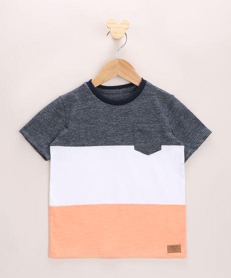 Camiseta-Infantil-com-Recortes-e-Bolso-Manga-Curta-Multicor-9968664-Multicor_1