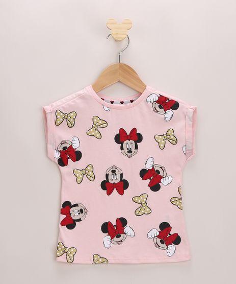 Blusa-Infantil-Estampada-Minnie-Mouse-Manga-Curta-Rosa-9965198-Rosa_1