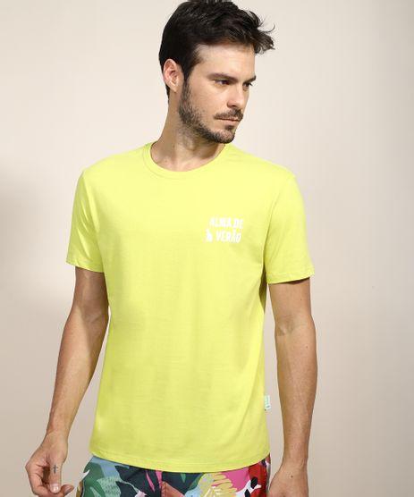 Camiseta-Masculina-Feline--Alma-de-Verao--Manga-Curta-Gola-Careca-Verde-9970457-Verde_1