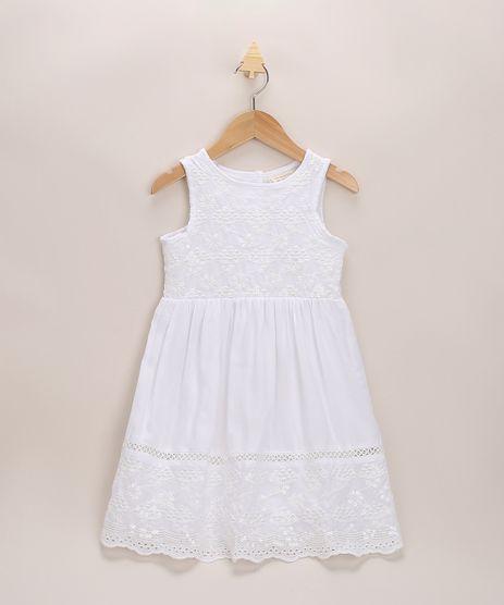 Vestido-Infantil-Amplo-com-Bordados-e-Paete-Sem-Manga-Branco-9953433-Branco_1