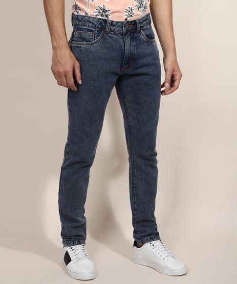 Calca-Jeans-Masculina-Slim-Marmorizada-Azul-Escuro-9967868-Azul_Escuro_1