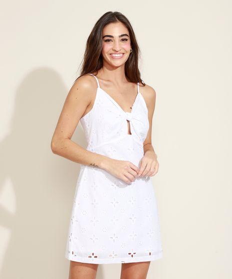 Vestido-de-Laise-Feminino-Curto-com-No-Alca-Fina-Off-White-9956953-Off_White_1