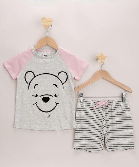 Pijama-Infantil-Ursinho-Pooh-Raglan-Manga-Curta-Cinza-9971895-Cinza_1