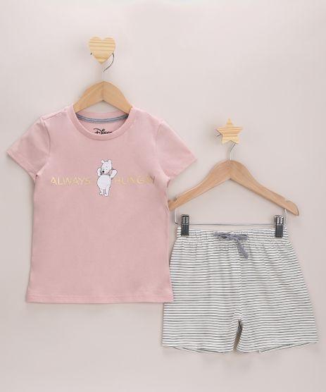 Pijama-Infantil-Ursinho-Pooh-Manga-Curta-Rosa-9971897-Rosa_1