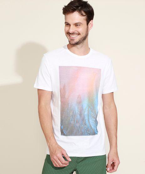 Camiseta-Masculina-Flame-Folhagem-Manga-Curta-Gola-Careca-Branca-9968451-Branco_1