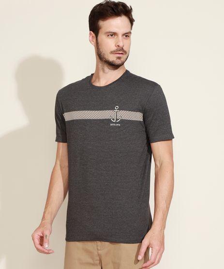 Camiseta-Masculina-Comfort-Listrada-Ancora-Manga-Curta-Gola-Careca-Cinza-Mescla-Escuro-9970182-Cinza_Mescla_Escuro_1