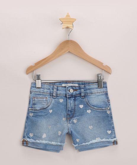 Short-Jeans-Infantil-Estampado-de-Coracoes-com-Barra-Dobrada-Azul-Medio-9965695-Azul_Medio_1