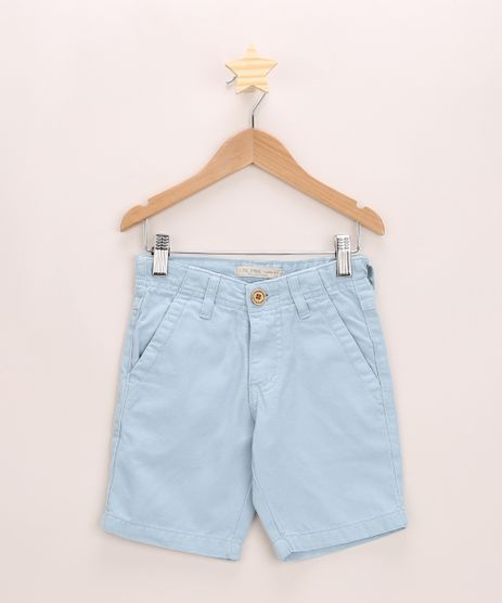 Bermuda-de-Sarja-Infantil-Slim-Azul-Claro-9953664-Azul_Claro_1