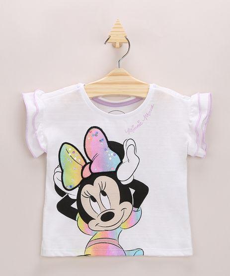 Blusa-Infantil-Minnie-com-Paetes-e-Babado-na-Manga-Off-White-9964315-Off_White_1