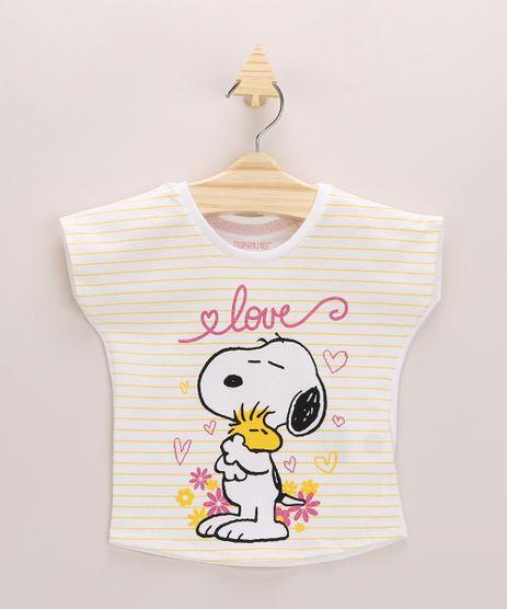 Blusa-Infantil-Snoopy-com-Listras-Manga-Curta-Off-White-9967468-Off_White_1