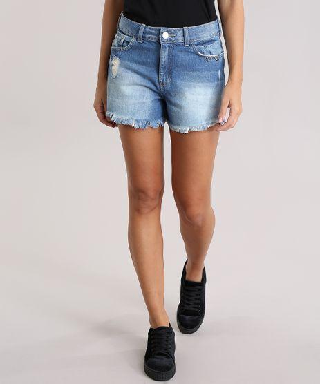 Short-Jeans-Vintage-com-Ilhos-Azul-Medio-8835818-Azul_Medio_1
