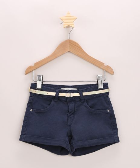Short-de-Sarja-Infantil-com-Barra-Dobrada-e-Cinto-Azul-Marinho-9967115-Azul_Marinho_1
