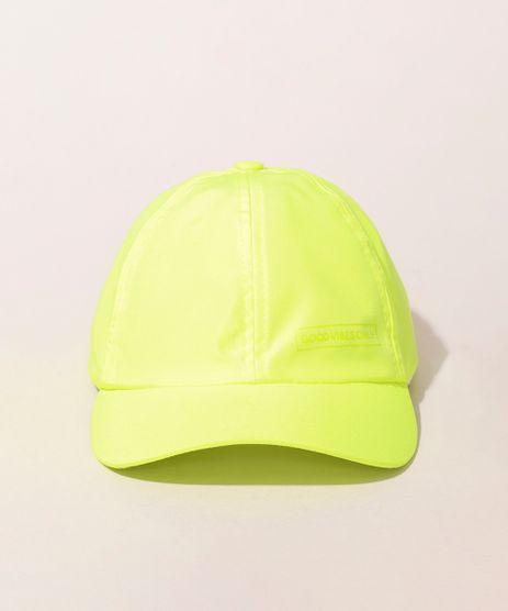 Bone-Infantil--Good-Vibes-Only--Aba-Curva-Amarelo-Neon-9975027-Amarelo_Neon_1