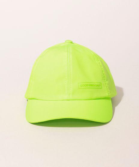 Bone-Infantil--Good-Vibes-Only--Aba-Curva-Verde-Neon-9975028-Verde_Neon_1