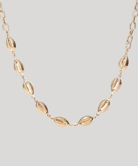 Gargantilha-Choker-Feminina-Buzios-Dourada-9975315-Dourado_1