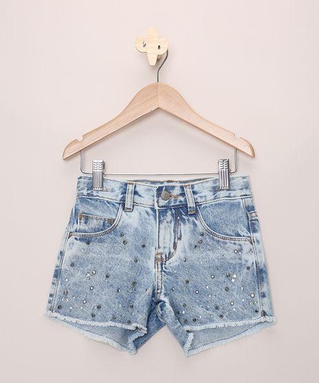 Short-Jeans-Infantil-Com-Strass-Barra-Desfiada-Azul-Medio-9966239-Azul_Medio_1