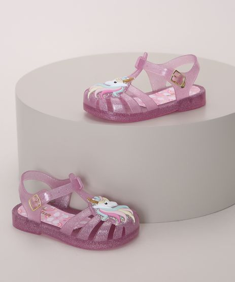 Sandalia-Infantil-LueLua-Unicornio-com-Glitter-Rosa-9974380-Rosa_1