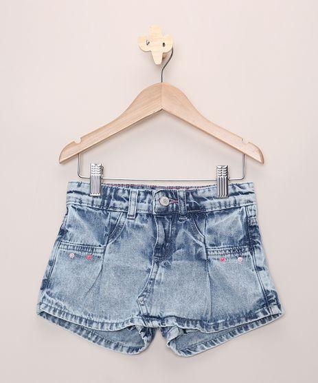 Short-Saia-Jeans-Infantil-Marmorizado-com-Bolsos-Azul-Claro-9965690-Azul_Claro_1