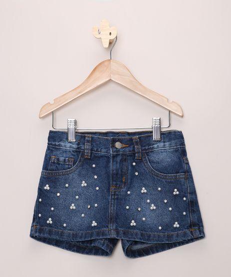 Short-Saia-Jeans-Infantil-com-Perolas-e-Strass-com-Bolsos-Azul-Medio-9966237-Azul_Medio_1
