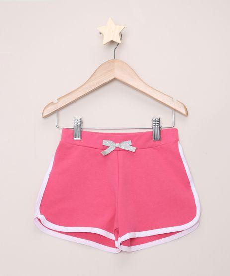 Short-de-Moletom-Infantil-Running-com-Laco-Pink-9953109-Pink_1