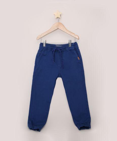 Calca-de-Sarja-Infantil-Jogger-Azul-9432921-Azul_1