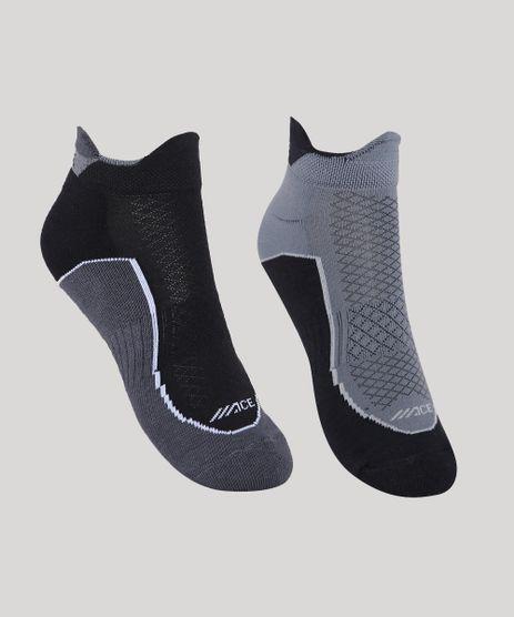 Kit-de-2-Meias-Masculino-Esportivo-Ace-Running-Cano-Baixo-Chumbo-9944796-Chumbo_1