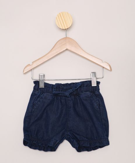 Short-Jeans-Infantil-Clochard-com-Laco-Azul-Escuro-9968310-Azul_Escuro_1