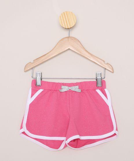 Short-de-Moletom-Infantil-Running-com-Glitter-Pink-9970083-Pink_1