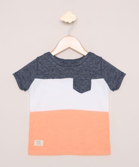 Camiseta-Infantil-com-Recortes-Manga-Curta-com-Bolso-Multicor-9963530-Multicor_1