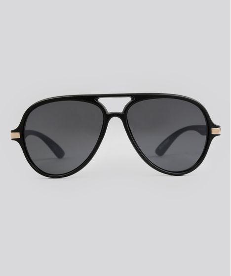 Oculos-de-Sol-Redondo-Feminino-Oneself-Preto-9038901- ... 4025c51911