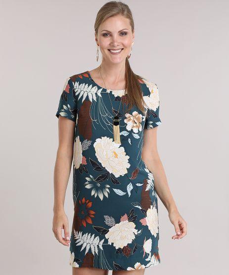 Vestido-Estampado-Floral-Verde-8840644-Verde_1