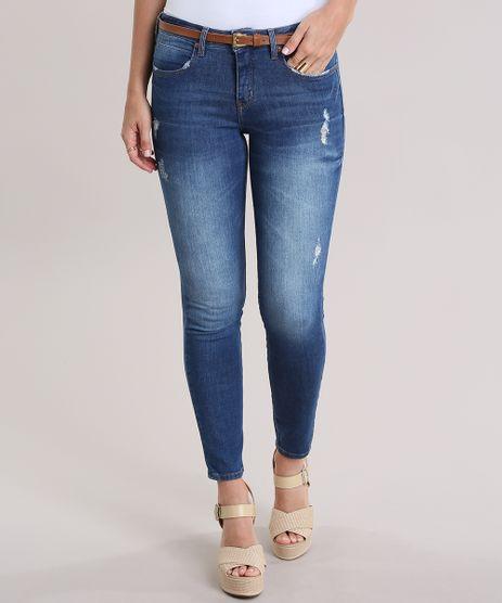 Calca-Jeans-Super-Skinny-com-Cinto-Azul-Escuro-8836661-Azul_Escuro_1
