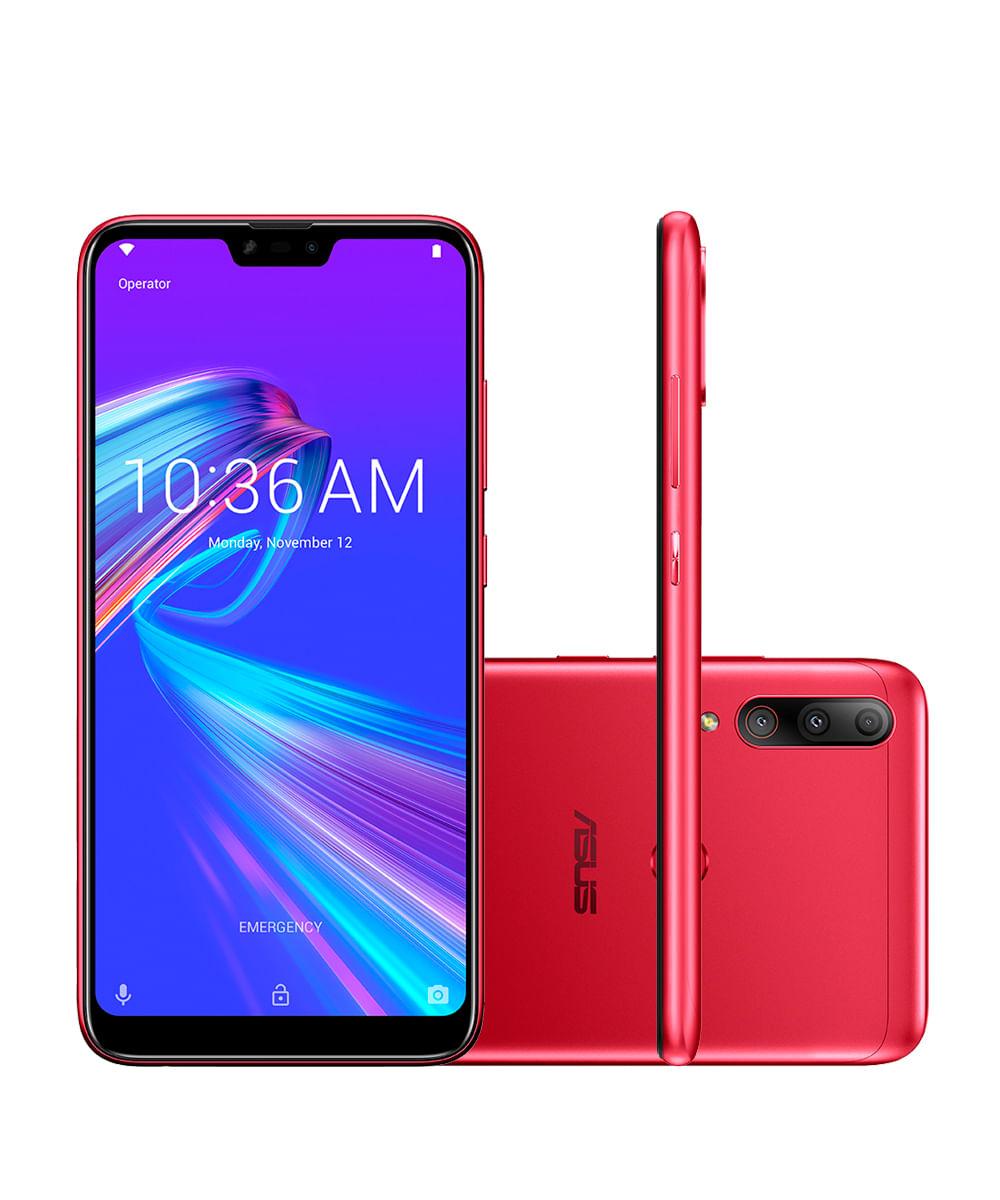 Smartphone Asus ZB634KL Zenfone Max Shot Plus 64GB+ Vermelho