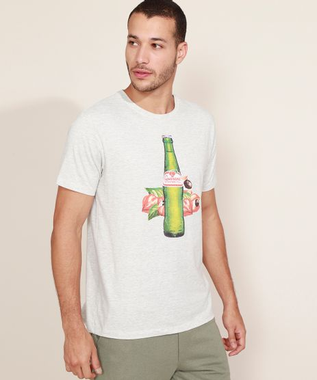 Camiseta-Masculina-Guarana-Antarctica-Manga-Curta-Gola-Careca-Cinza-Mescla-Claro-9961763-Cinza_Mescla_Claro_1