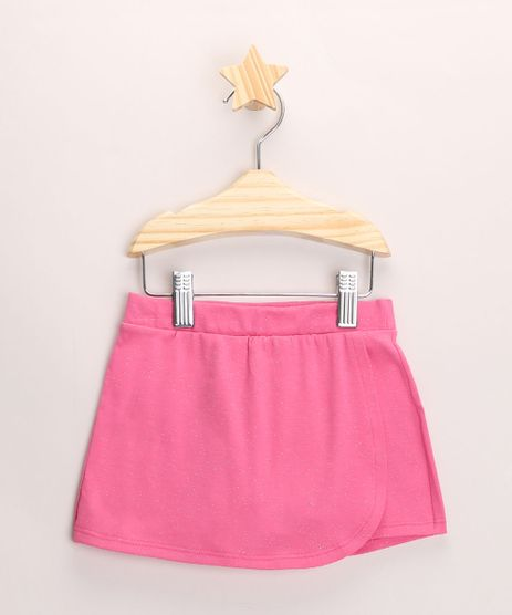 Short-Saia-Infantil-Envelope-com-Glitter--Rosa-9968040-Rosa_1