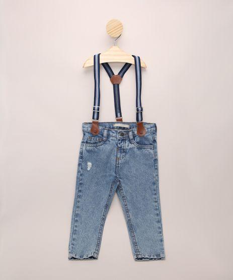 Calca-Jeans-Infantil-com-Suspensorio-Azul-Medio-9964608-Azul_Medio_1