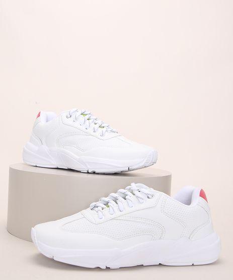 Tenis-Feminino-Oneself-Chunky-Sneaker-com-Recortes-Branco-9971044-Branco_1